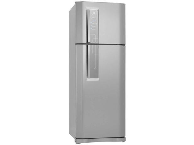 Geladeira/Refrigerador Electrolux Frost Free Inox - Duplex 459L Painel Touch DF52X22006