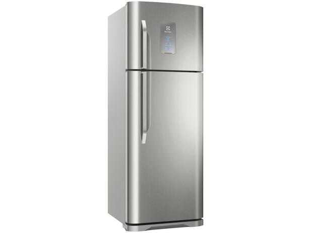 Extremamente Geladeira/Refrigerador Electrolux Frost Free Inox - Duplex 463L  XV94