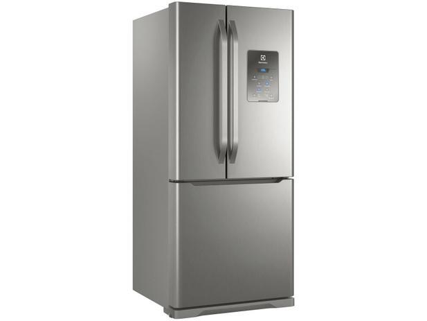 Geladeira/Refrigerador Electrolux Frost Free Inox - French Door 579L Multidoor DM84X - 110V