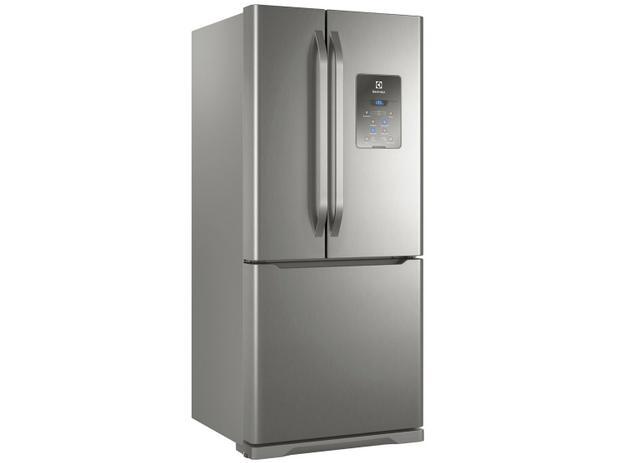 Menor preço em Geladeira/Refrigerador Electrolux Frost Free Inox  - French Door 579L Multidoor DM84X