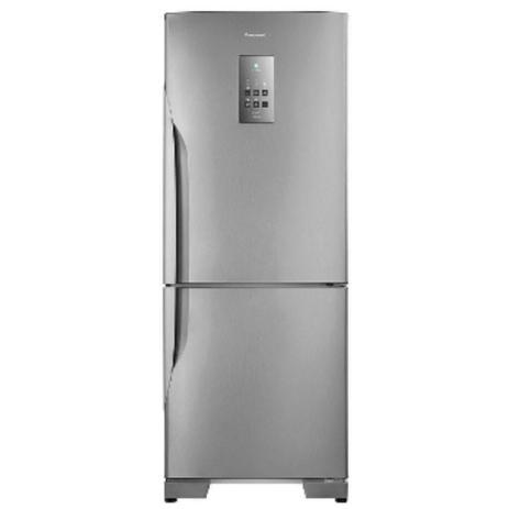 Imagem de Geladeira/refrigerador frost free nr-bb53pv3xa 425 litros aço escovado panasonic