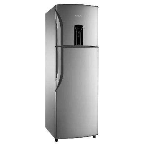 Imagem de Geladeira/Refrigerador Panasonic Frost Free 2 Portas NR-BT40B 387 Litros Aço Escovado