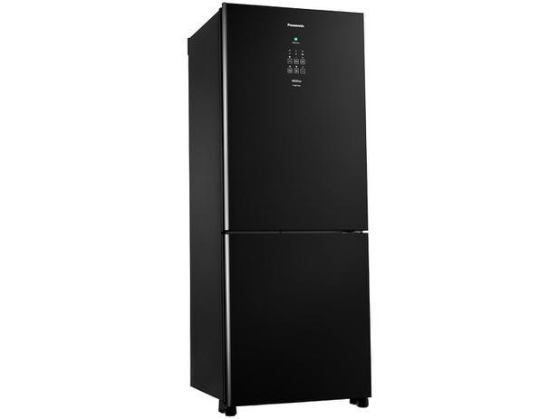 Geladeira/Refrigerador Panasonic Frost free - Inverser 425L Glass Painel EasyTouch - 110V