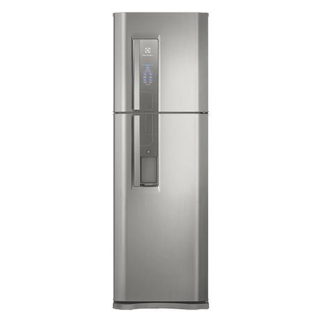 Geladeira Top Freezer com Dispenser de Água Platinum 400L (DW44S) - Electrolux