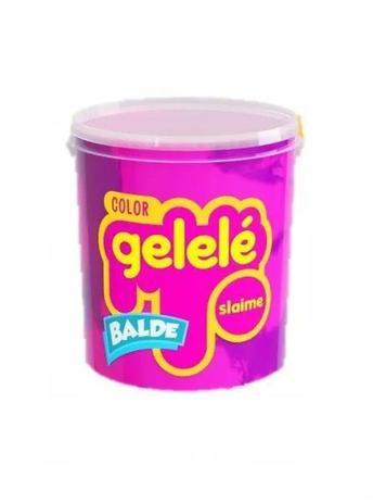 Imagem de Gelelé geleinha massinha slaime bicolor balde 457 gr escolha as cores