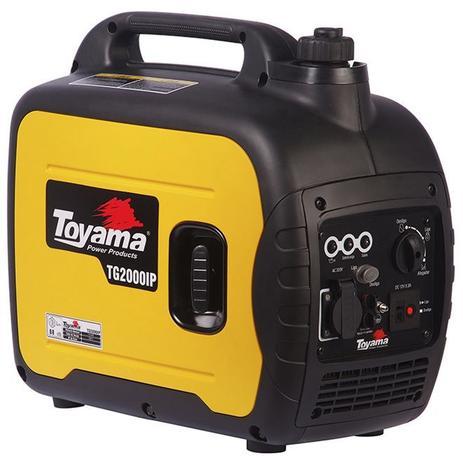 aee9dab4ce1 Gerador de Energia Digital à Gasolina com Inversor 4T Partida Manual 1.8  kVA 220V TG2000IP Toyama.