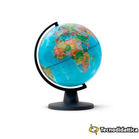 Imagem de Globo Geográfico Político Mini 16cm Tecnodidattica