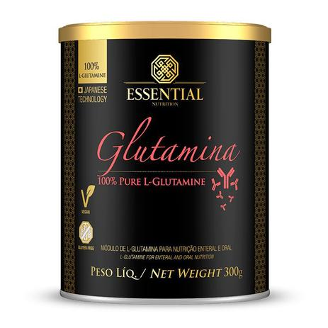 Imagem de Glutamina 300g L-Glutamina 100% Pura - Essential