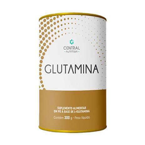 Imagem de GLUTAMINA 300G Suplemento alimentar  l-glutamina em pó - Central Nutrition