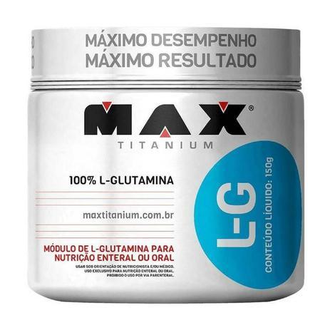 Imagem de Glutamina L-G - 150g - Max Titanium
