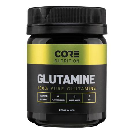 Imagem de Glutamine 100% Pure 100g - Core Nutrition