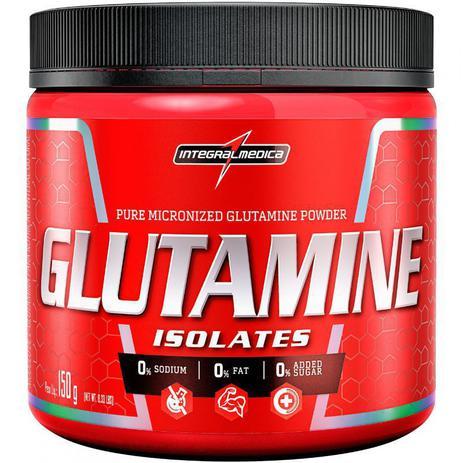 Imagem de Glutamine isolates 150g integral medica