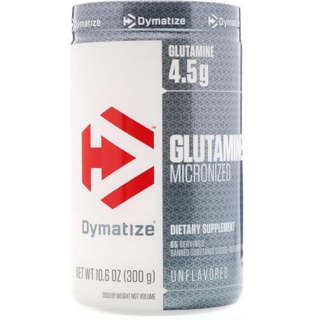 Imagem de Glutamine micronized sem sabor - dymatize 300g