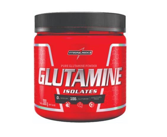 Imagem de Glutamine Pure Isolates 300g Glutamina Pura Integralmédica