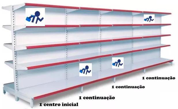 Imagem de Gondola Centro 160 4 Metros 1 Inicial 3 Continuação