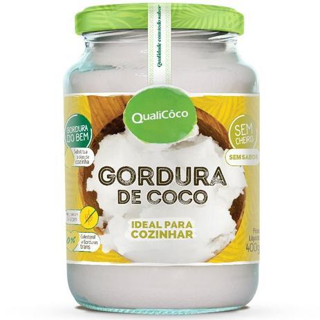 Imagem de Gordura de Coco Pote 400g Qualicôco