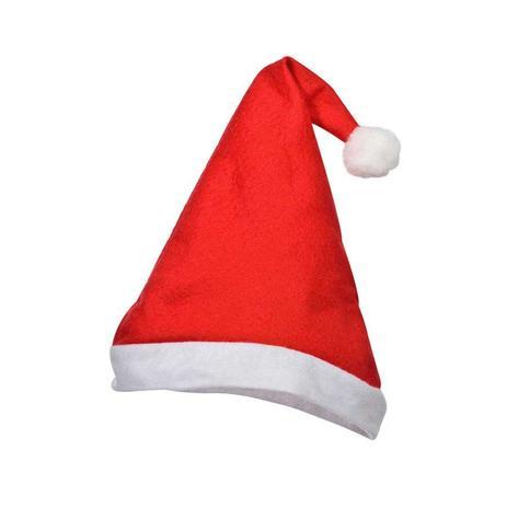 Gorro de Papai Noel Feltro 12 unidades - Festabox - Decoração de ... 689a4381d7a