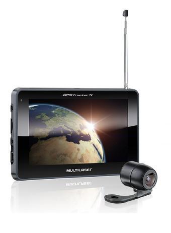 Imagem de GPS LCD 7 Pol. Touch Tv Digital Rádio FM com Câmera de Ré Avin Multilaser - GP039