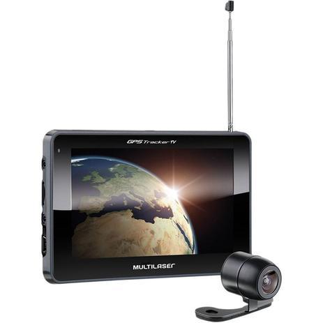 Imagem de GPS Multilaser Tracker 3 GP039 Tela 7 com Câmera de Ré TV Digital Radio FM