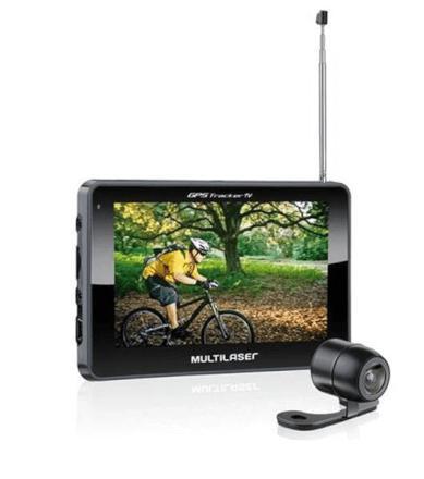 Imagem de Gps Tracker III Com Camera De Re E Tv Multilaser - GP035