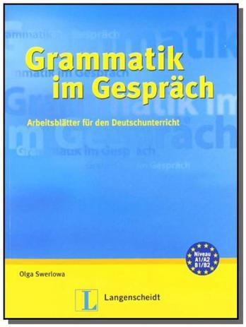 Grammatik im gesprach buch - Klett - Livro de Literatura Estrangeira ...