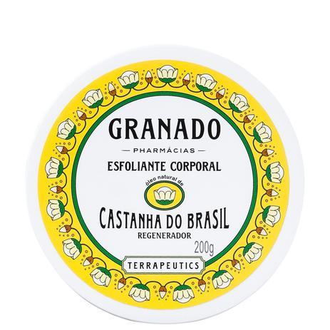 Imagem de Granado Terrapeutics Castanha do Brasil Regenerador - Esfoliante Corporal 200g