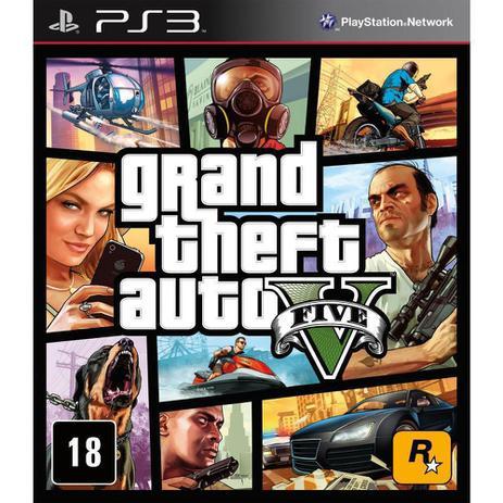 Imagem de Grand Theft Auto V - GTA 5 - PS3