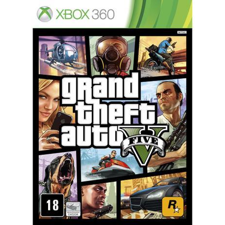 Imagem de Grand Theft Auto V - GTA 5 - Xbox 360