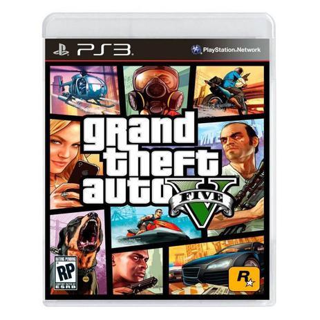 Imagem de Grand Theft Auto V - GTA V - GTA 5 PS3