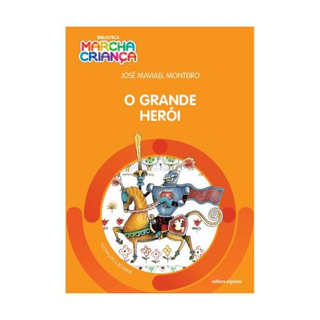 Imagem de Grande heroi, o - biblioteca marcha crianca - scipione