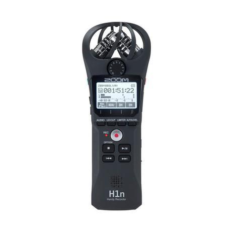 Imagem de Gravador Digital de Áudio Zoom H1N Handy Recorder Black