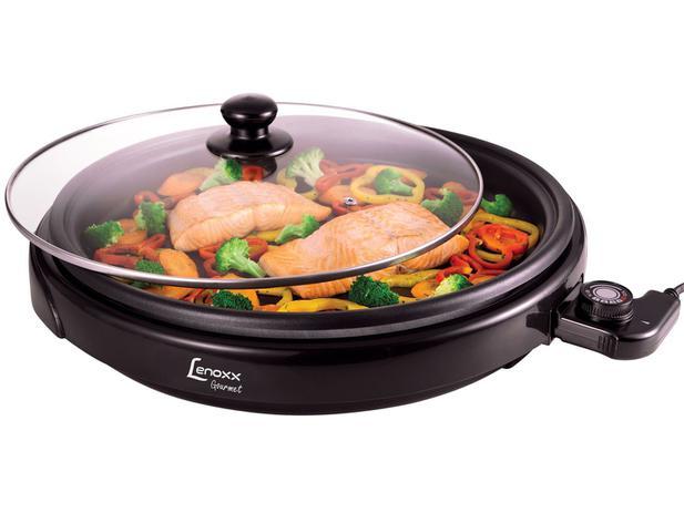 Grill Lenoxx Gourmet 1250W - Controle de Temperatura - 110V