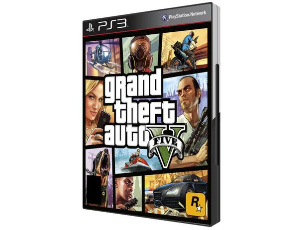 GTA V para PS3 - Rockstar Games
