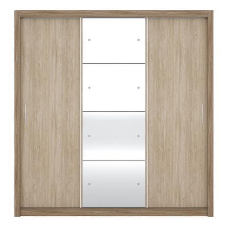 Imagem de Guarda Roupa 3 Portas Correr Residence II Nogal Vanilla