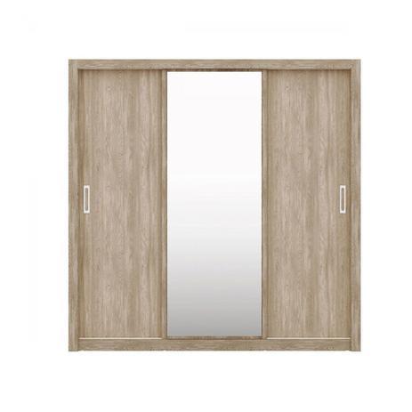 Imagem de Guarda Roupa 3 Portas de Correr Residence com Espelho Demobile