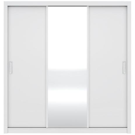 Imagem de Guarda-Roupa Residence 3 Portas de Correr Branco Demóbile