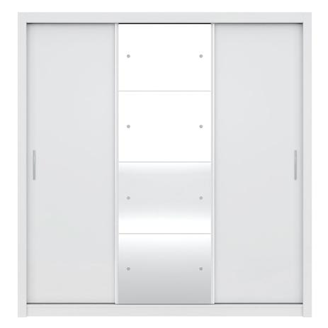 Imagem de Guarda-Roupa Residence II 3 Portas de Correr Branco Demóbile