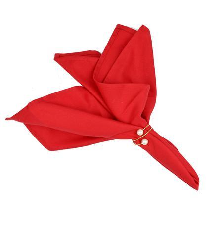 Imagem de Guardanapo de mesa natal 4 unidades vermelho