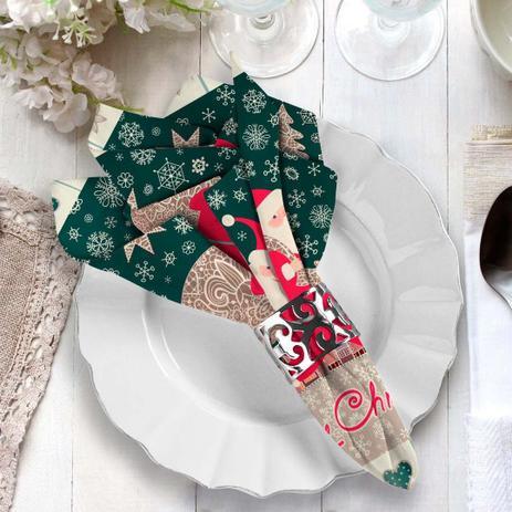 Imagem de Guardanapo de Tecido Merry Christmas
