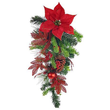 Imagem de Guilanda de natal decorada arvore - grillo