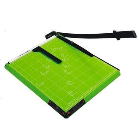 Imagem de Guilhotina A4 Com Margeador Magnético Verde 12 Folhas