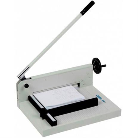 Imagem de Guilhotina para cortar papel menno 300f até 300 folhas preta