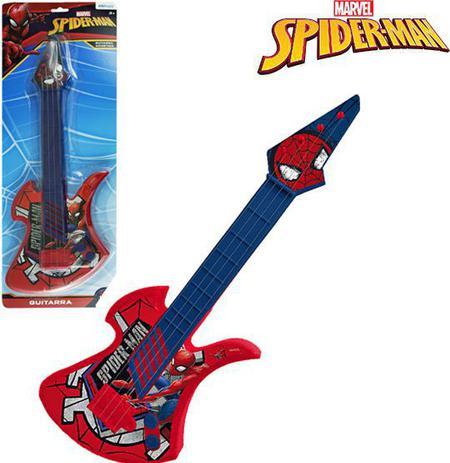 Imagem de Guitarra infantil acústica grande - homem aranha