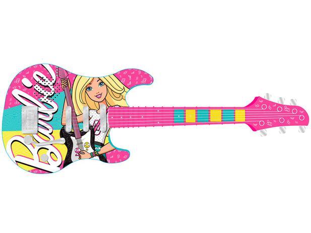 Imagem de Guitarra Infantil Barbie 8006-9