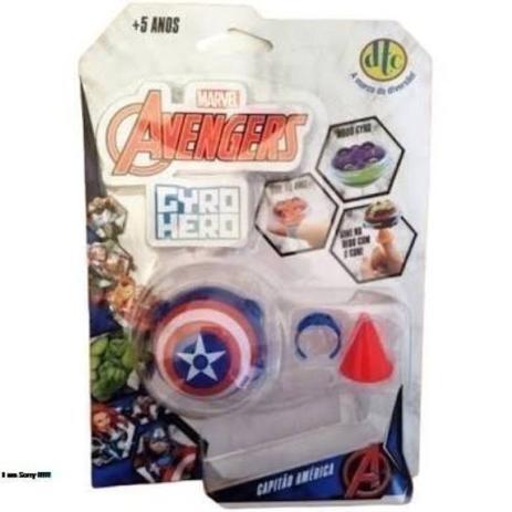 Imagem de Gyro Hero Marvel Capitão America
