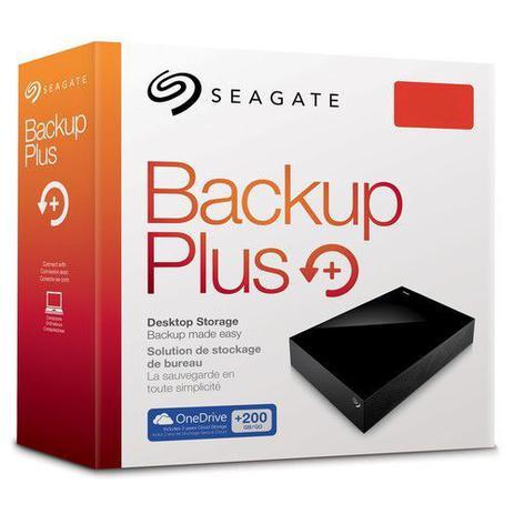 Imagem de Hard Disk Externo Seagate 6TB Backup Plus Desktop USB 3.0