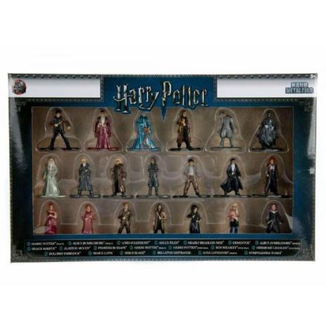 Imagem de Harry Potter Kit 20 Mini Figuras - 4 Cm - Nano Metal - Dtc