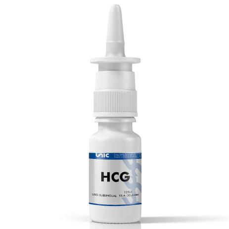 Imagem de HCG bioIdêntico 125ui Spray Sublingual 30 Doses (Para Dieta)