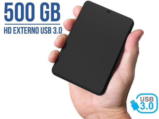 Imagem de Hd Externo 500gb Portátil YessTech 2,5 Usb 3.0