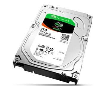 Imagem de HD Interno Seagate Desktop SSHD FireCuda 1TB SATA 64MB 3.5 7200RPM